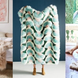 Keep Cozy this Fall with These 7 Faux Fur Throws | InStyleRooms.com/Blog
