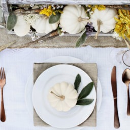 9 Thanksgiving Tabletops to Copycat | InStyleRooms.com/Blog