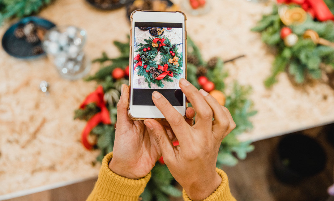 The Merriest and Brightest Holiday Decorations on Instagram | InStyleRooms.com/Blog