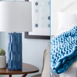 15 Classic Blue Home Decor Picks For The New Year | InStyleRooms.com/Blog