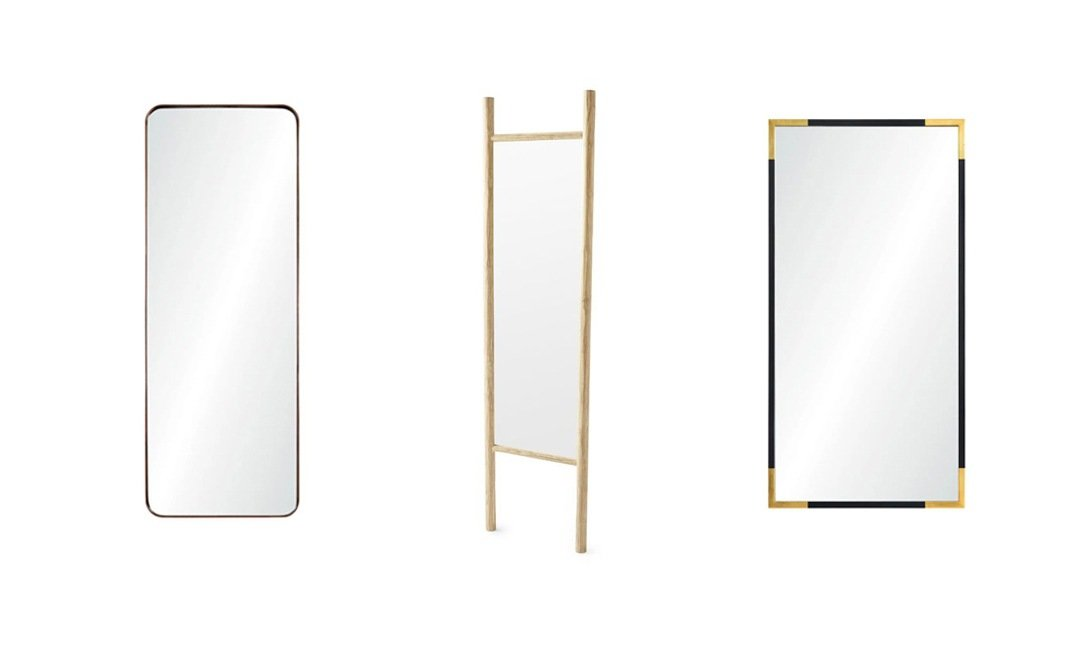 Chic Floor Mirrors For Showing Off Your Latest Selfie | InStyleRooms.com/Blog